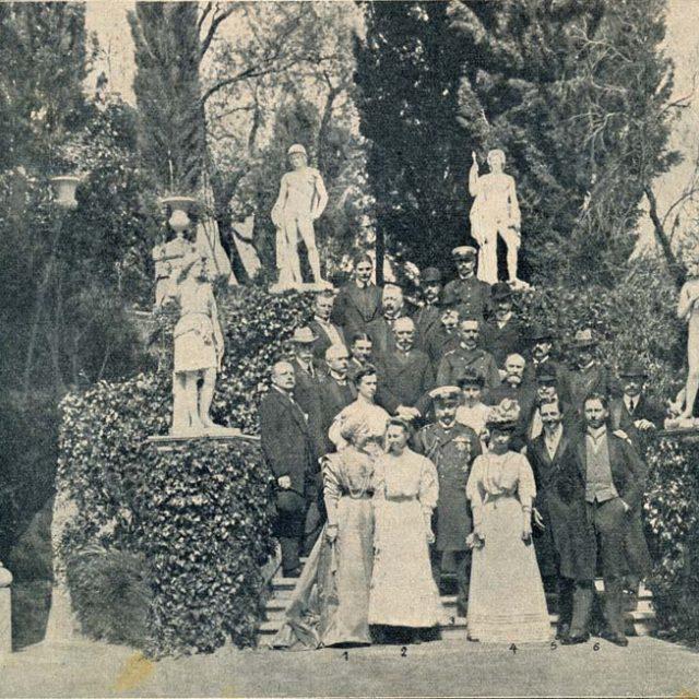 kaiserfamilie-korfu Achilleion Palast 1908