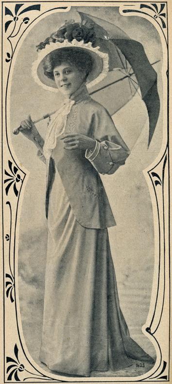Frühjahrskostüm 1908