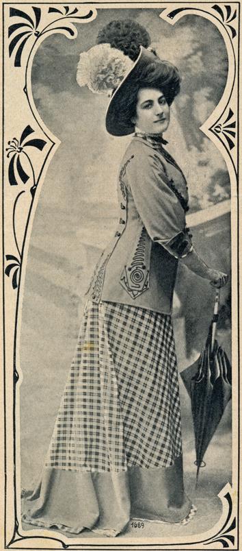 Frühjahrsmode 1908