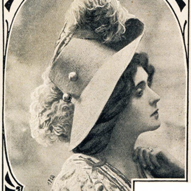 Frühjahrshut 1908