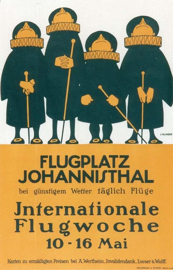 Flugplatz Johannisthal Plakat