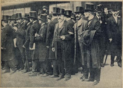 Treffen Geistlicher in London