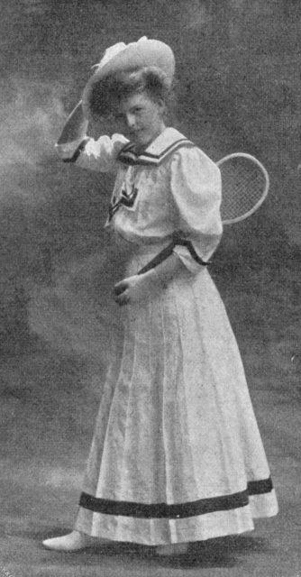Backfischmoden Daheim 1908