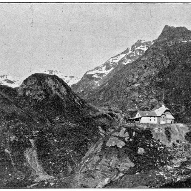 Lodner Hütte 1908 Daheim