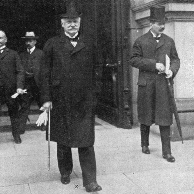 Landtag Preussen Eröffnung 1908
