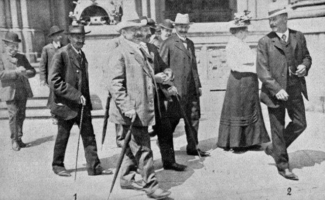 Meineid Eulenburg 1908 Zeugen