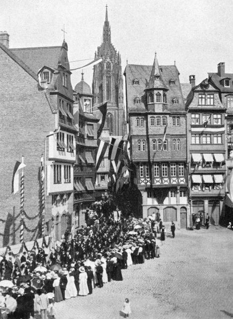 Tunrfest Frankfurt 1908 Altstadt