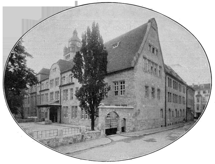 Neues Universitätsgebäude Jena 1908