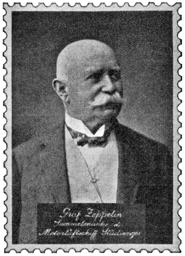 Zeppelin-Gedenkmarke