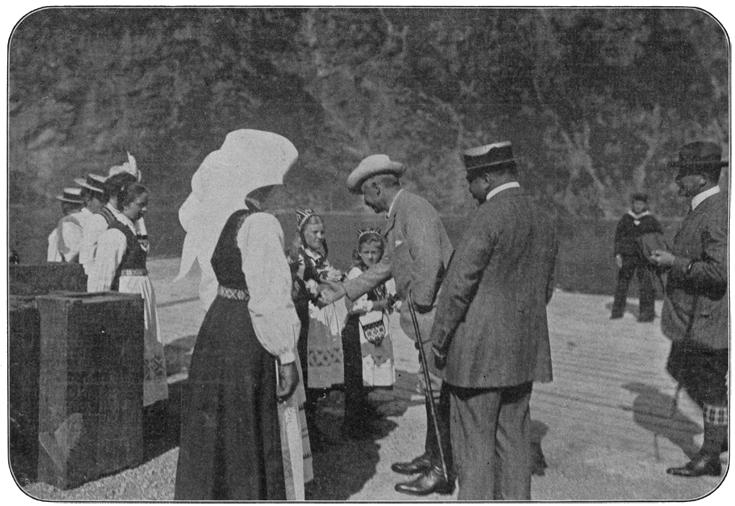 Nordlandreise Kaiser Wilhem II.