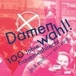 Damenwahl! Eine Ausstellung über das Frauenwahlrecht im Historischen Museum Frankfurt