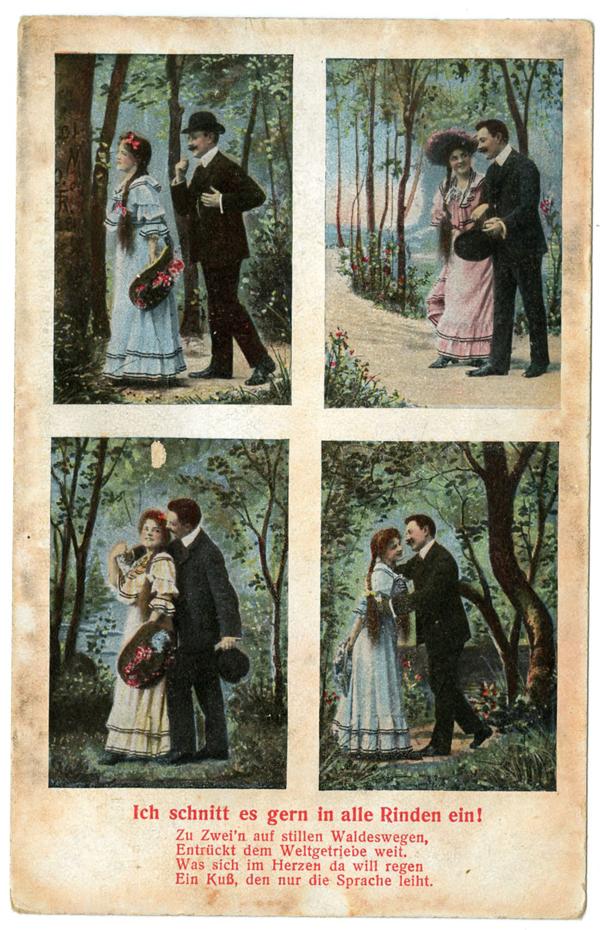 Liebesgrüße aus…dem Wald