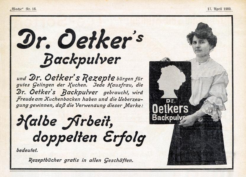 1909_anzeige_johanna-kind-mit-werbeschild-ihrer-silhouette
