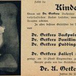 Dr. Oetker – das Erfolgrezept eines hellen Kopfes