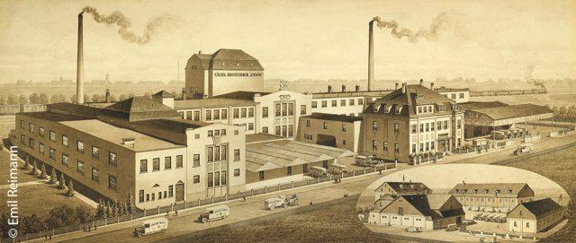 emil-reimann-sachsische-brotfabrik-union-werk-alte-federzeichnung
