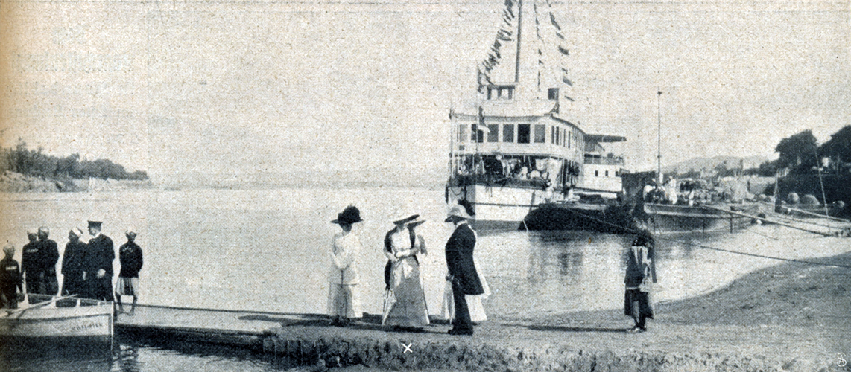 die-woche-1911-1.-s.53-nr.2-ankunft-kronprinzessin-ussuan