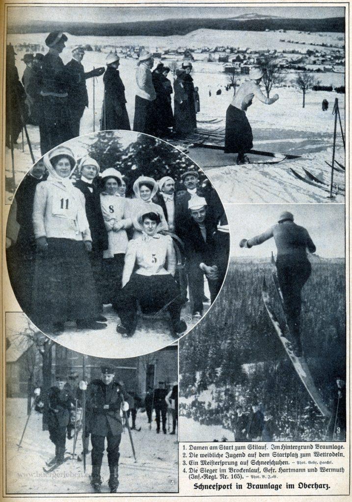 die-woche-1911-1.-s.97-nr.3-schneesport-in-braunlage