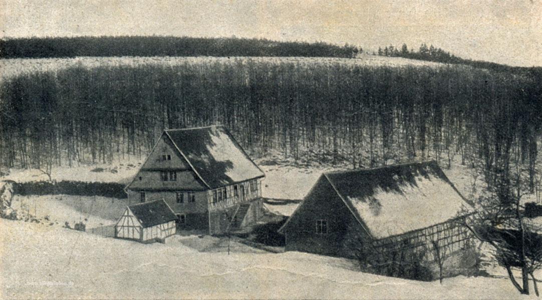 Gut, 1911 ist es ist noch etwas winterlicher!