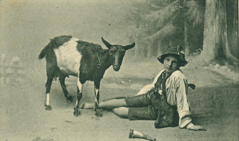 Ziegenhirte (goasbua) aus Tirol